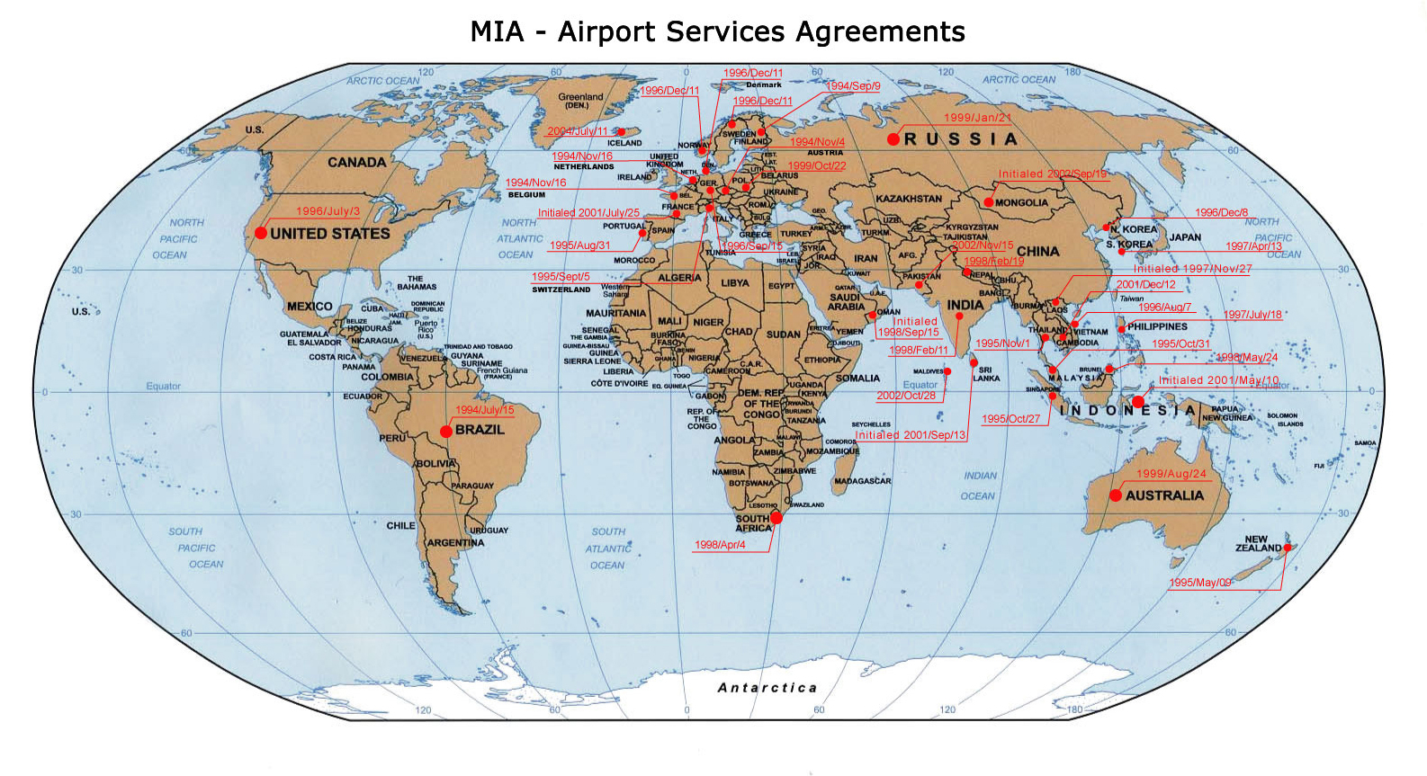 CAM :: Air Services Agreement